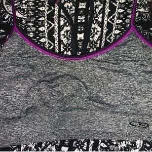 Champion Intimates & Sleepwear - Champion gray & purple sports bra